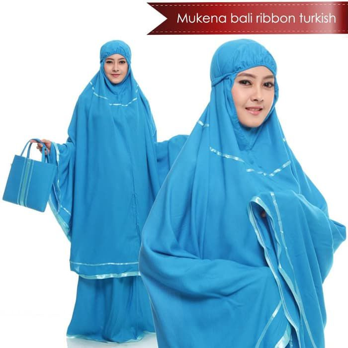 Mukena jumbo terbaru 2019 ribbon turkish