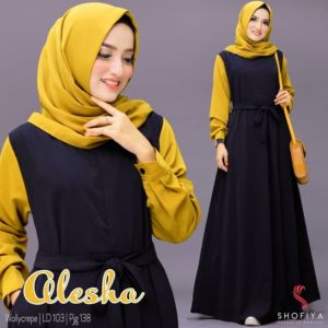 Gamis Best Seller Alesha ORI by SHOFIYA