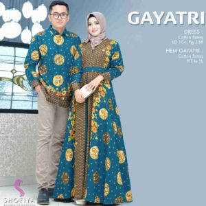 Couple batik gayatri toska