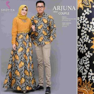 Couple Batik Kombi Brokat Arjuna