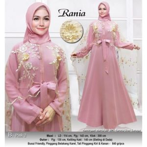 BEST SELLER Gamis Pesta Rania Premium