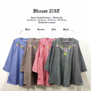 Blouse Katun Super Jumbo 2138