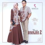 Baju Couple Batik Danajaya 2 by Shofiya