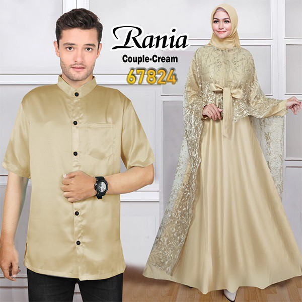Couple pesta terbaru rania cream