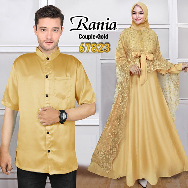 Couple pesta terbaru rania gold
