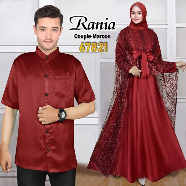Couple pesta terbaru rania maroon