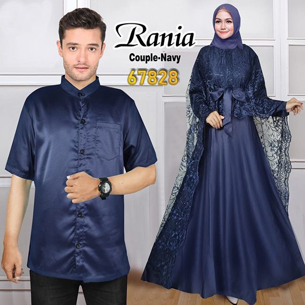 Couple pesta terbaru rania navy