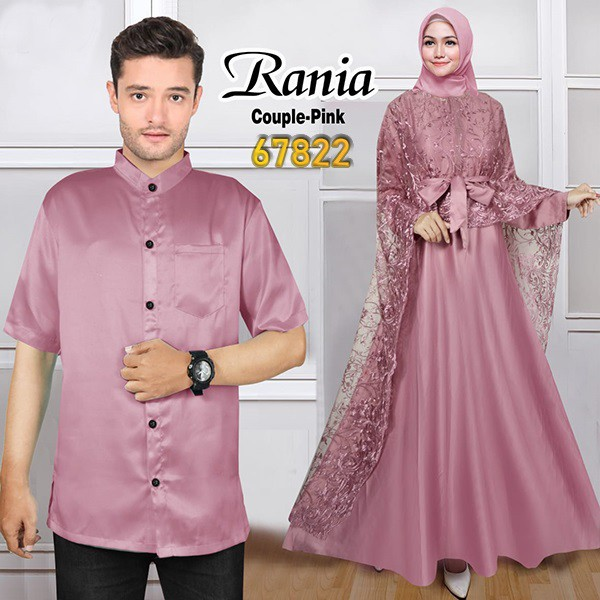 Couple pesta terbaru rania pink