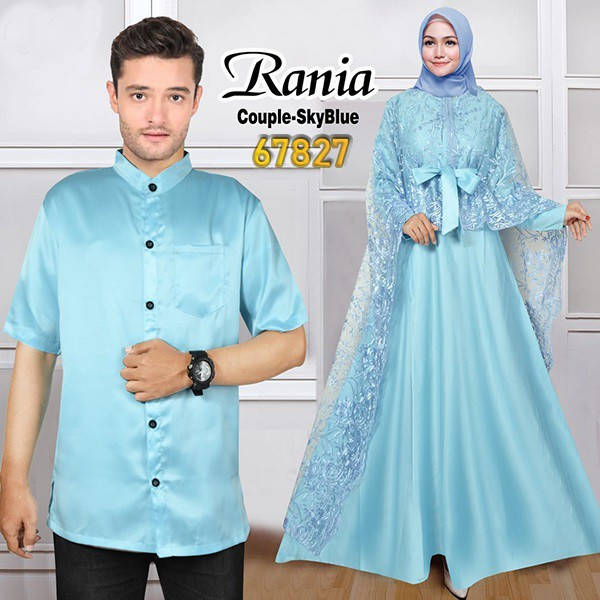Couple pesta terbaru rania skyblue