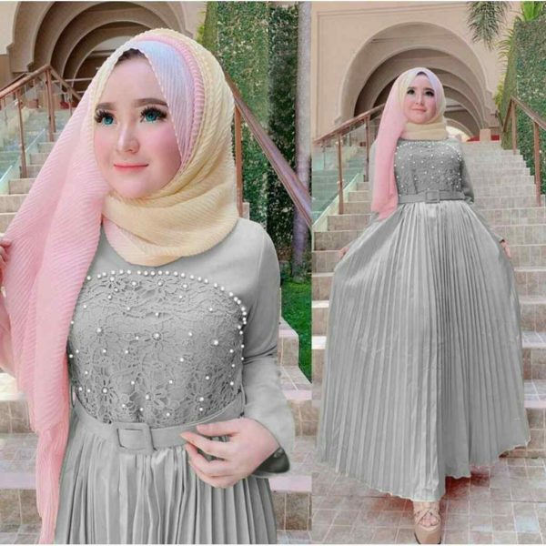 Model Gamis Pesta Modern Ayu