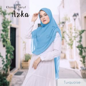 Khimar serut azka turkish