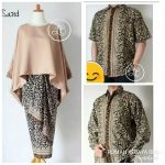 BATIK COUPLE BATWING SET