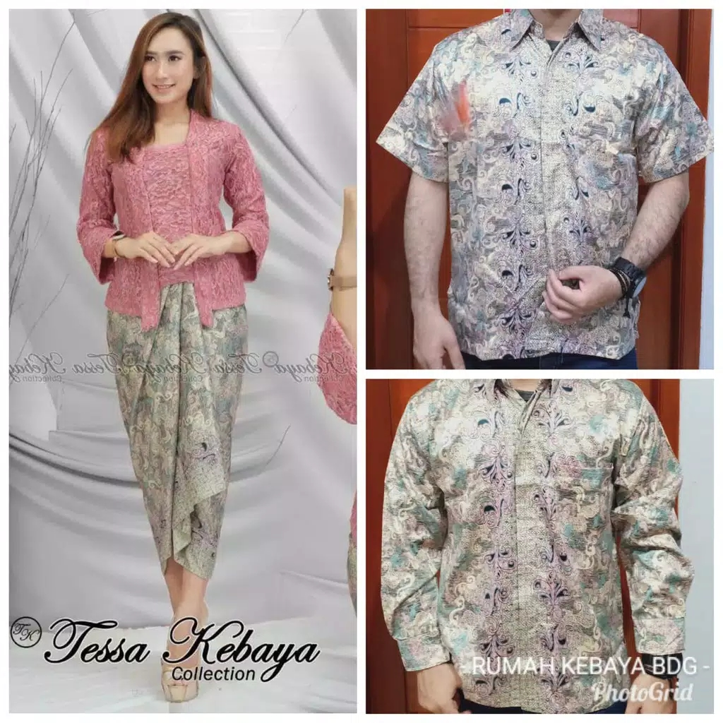 Batik couple kutubaru dusty