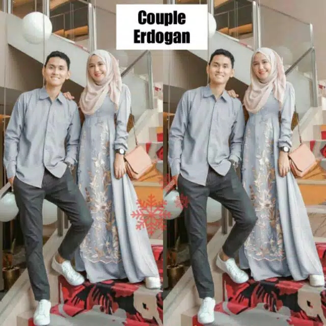 Couple kondangan erdogan abu