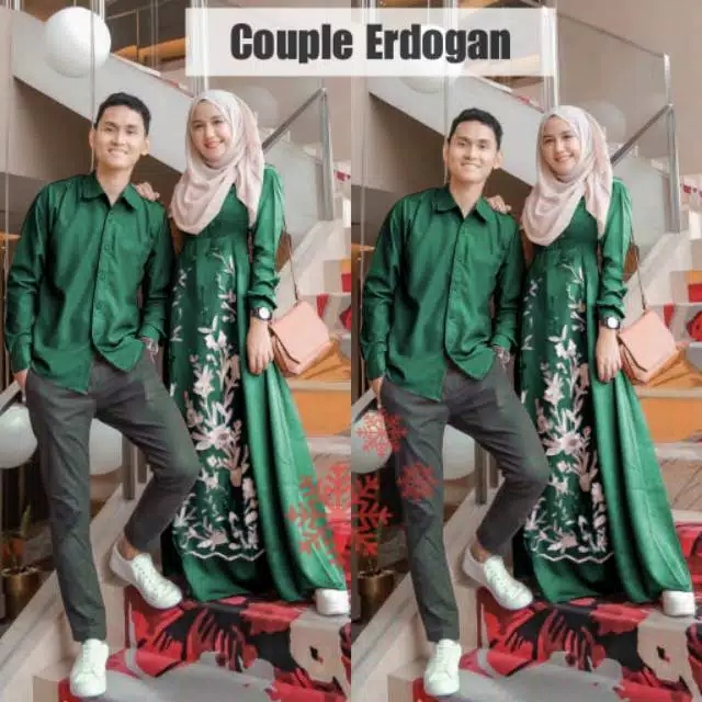 Couple kondangan erdogan botol
