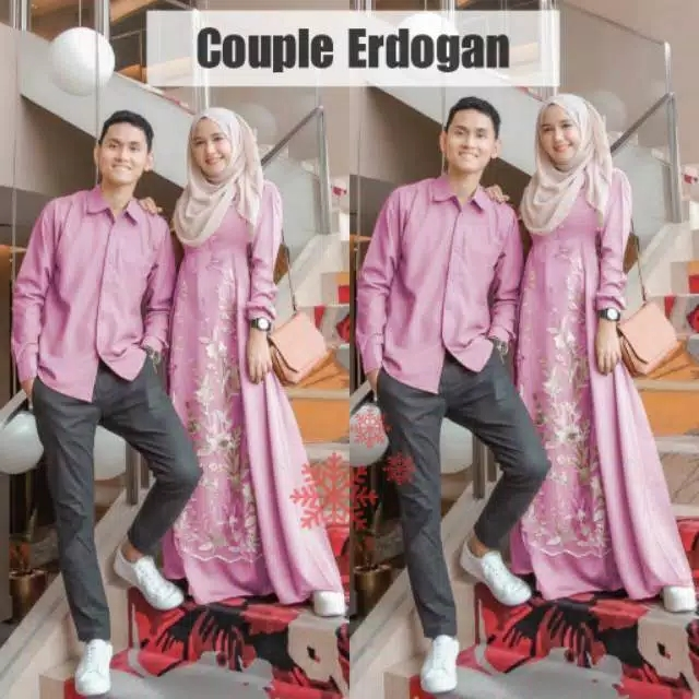 Couple kondangan erdogan pink