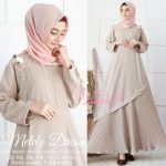 Gamis Polos Cantik Meldy By Amelia