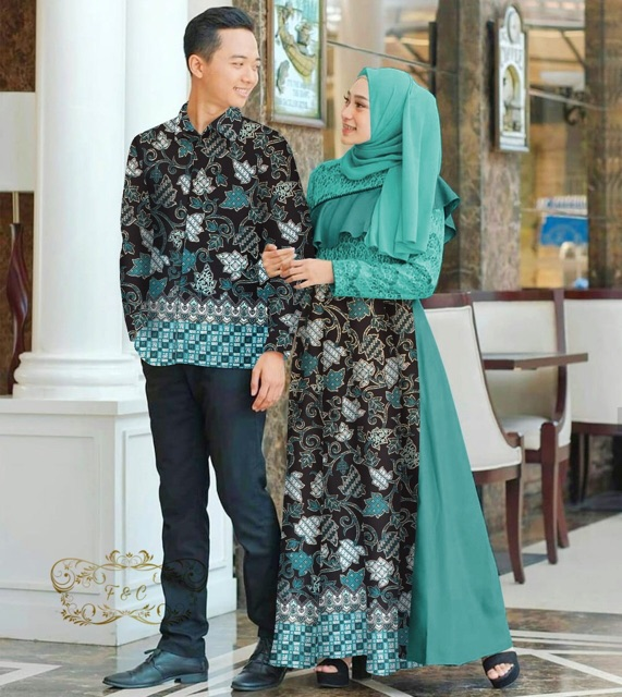 Couple batik alazka toska