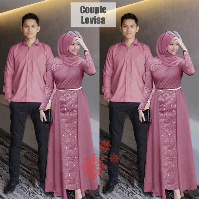Couple pesta lovisa lakshana dusty