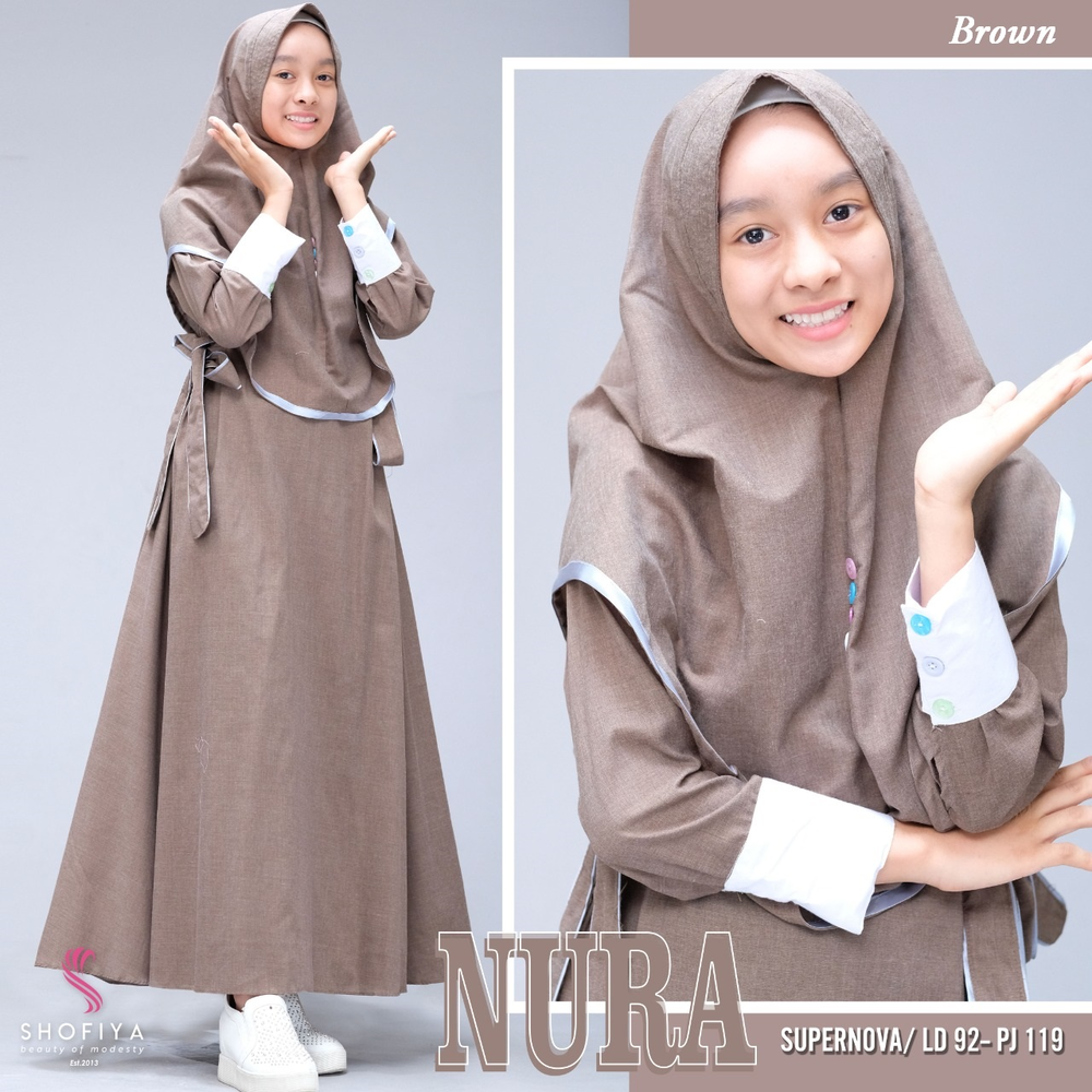 Nura teen brown