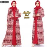 Gamis Model Cardigan Aulia