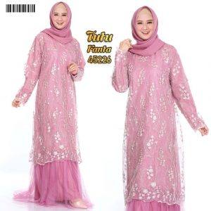 Gamis Dress Party Tutu XXL Fanta