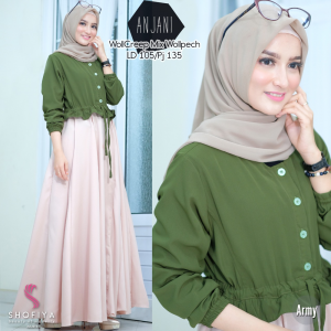 Anjani dress army