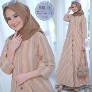 Aurel 2 dress orange