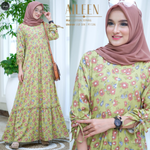 Gamis aileen olive
